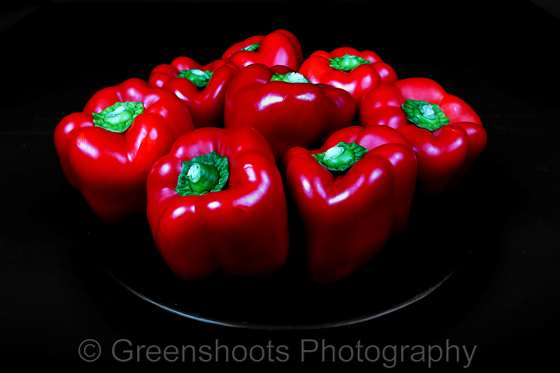 Voluputous Red Peppers
